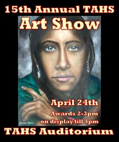2105 Art show poster