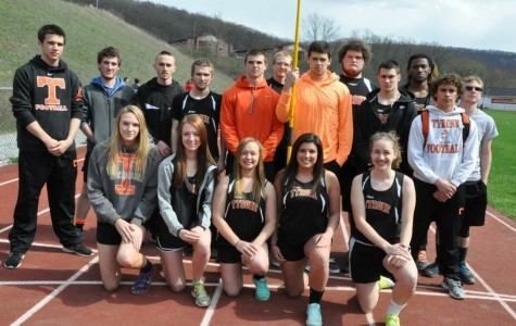 Boys track improves to 8-0-1 on senior night