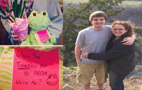 """TAHS promposal contest: A """"toad""""ally awesome promposal!"""