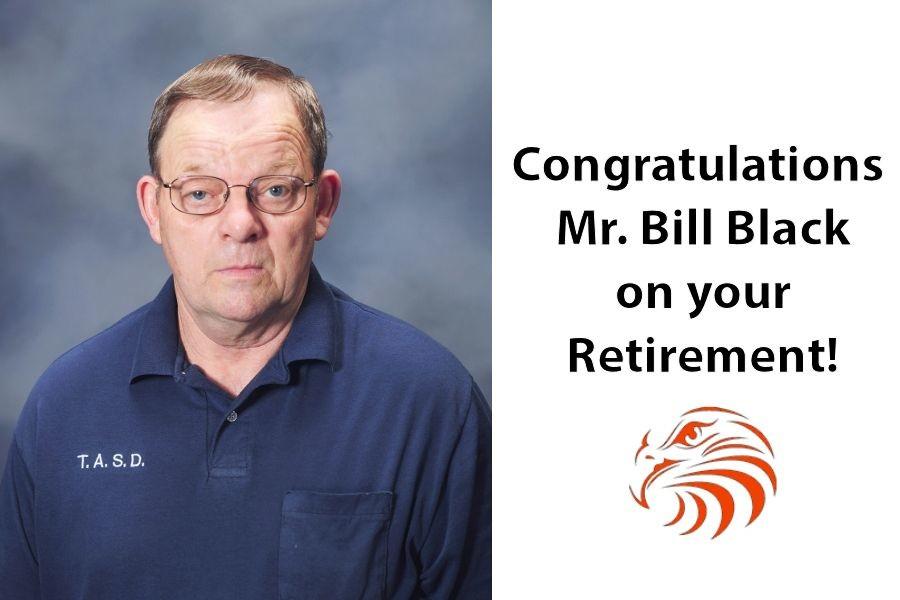 TASD custodian Bill Black retires after 14 years