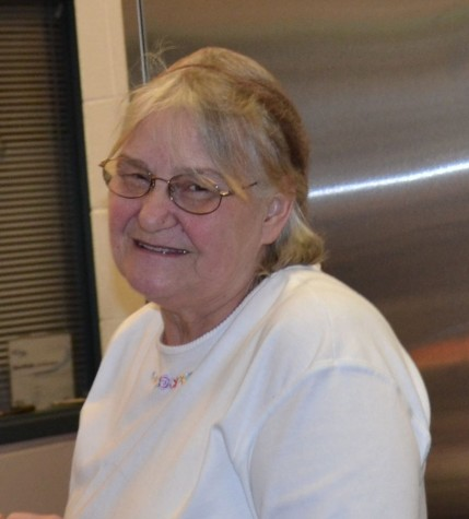 Cafeteria worker Beverly Riggleman to retire at the end of 2014-2015 school year