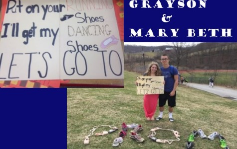TAHS promposal contest: Running their way to prom!