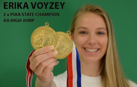 Erika Voyzey repeats as PIAA AA high jump state champion
