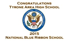 Tyrone Area High School wins coveted 2015 'Blue Ribbon School Award'