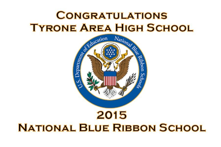 Tyrone+Area+High+School+wins+coveted+2015+%27Blue+Ribbon+School+Award%27