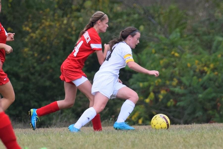 Marissa Panasiti got her second 3 goal game of the season vs. BEA (file photo)