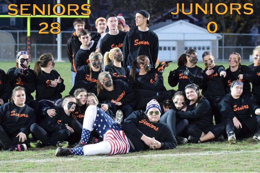 The victorious seniors