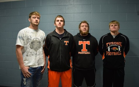Athletes of the Week: The Golden Eagle Defensive Line