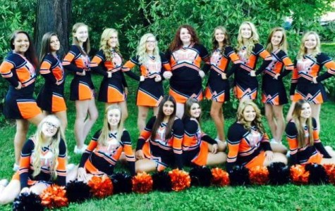 TAHS Cheerleaders open the 2015-16 competition season this weekend