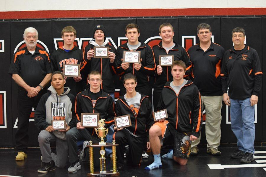 Tyrone grapplers take 3rd at Conemaugh Township Tournament