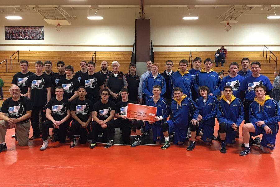 Tyrone wrestling defeats Bellwood 41-21 at 1st 'Black and Blue' match