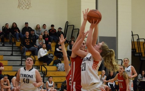 Engle's season high 35 points lead Lady Eagles over Bellefonte