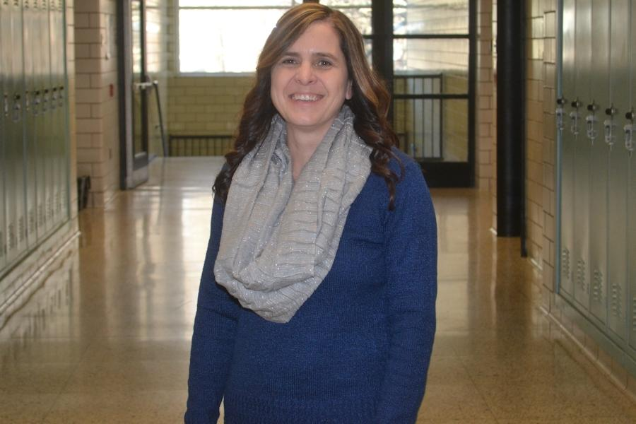 March teacher of the Month: Mrs. Michele Marasco.