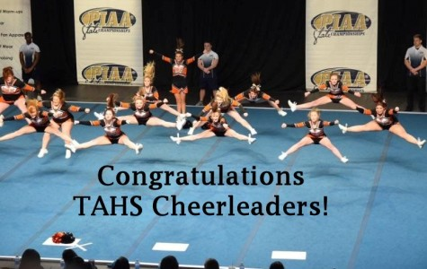 Tyrone Cheerleaders make their first trip to PIAA state championships