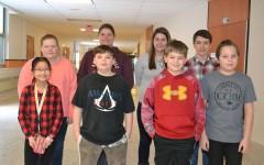 Second Marking Period Middle School Renaissance Stars
