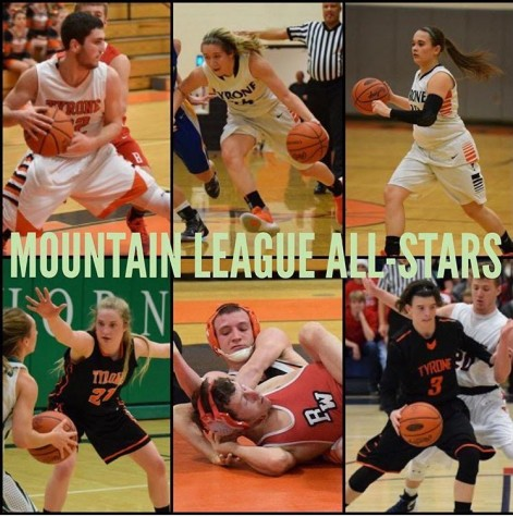 Six Tyrone Athletes Named Mountain League All Stars; Engle Named MVP