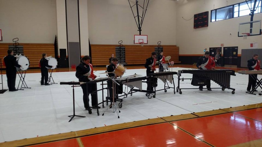 Last years Indoor percussion group at the home show.