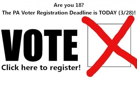 PA Voter Registration Deadline is 3/28; Click to Register Online