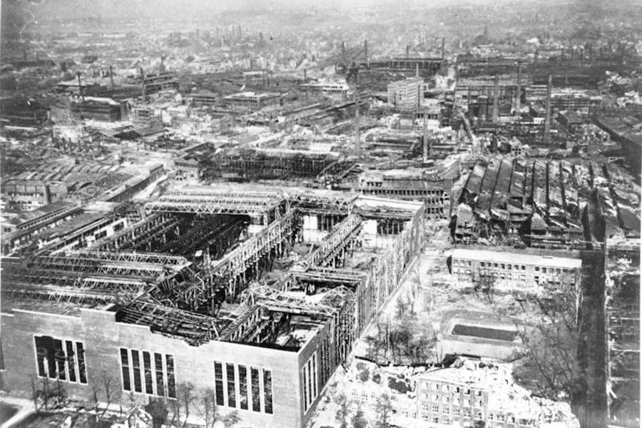 Krupp Ammunition Factory 1945