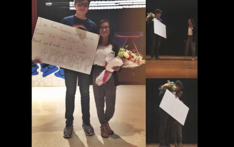 TAHS Promposal Contest: No Business Like Show Business