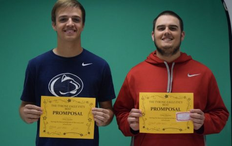 2nd Annual Eagle Eye Promposal Contest Winners: Chase and Drew