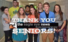 Thank You Eagle Eye Seniors!