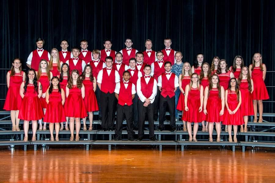 2015-2016 POPS Extension Choir, under the direction of Mrs. Laura Harris