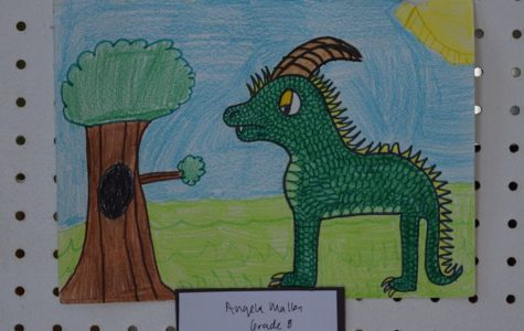 Middle School Begins New Art Show
