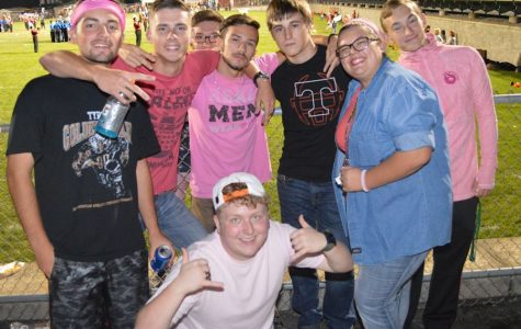 Fan Photo Flash: Tyrone vs Bellefonte Pink Out Game