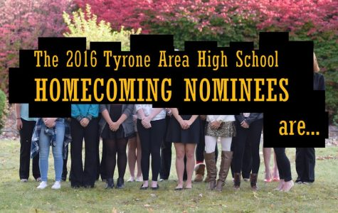 2016 Tyrone High School Homecoming Court Nominations