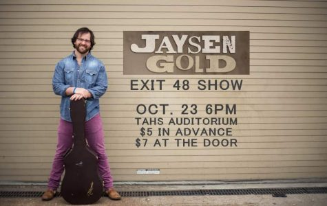Jaysen Gold to Perform Live in Tyrone