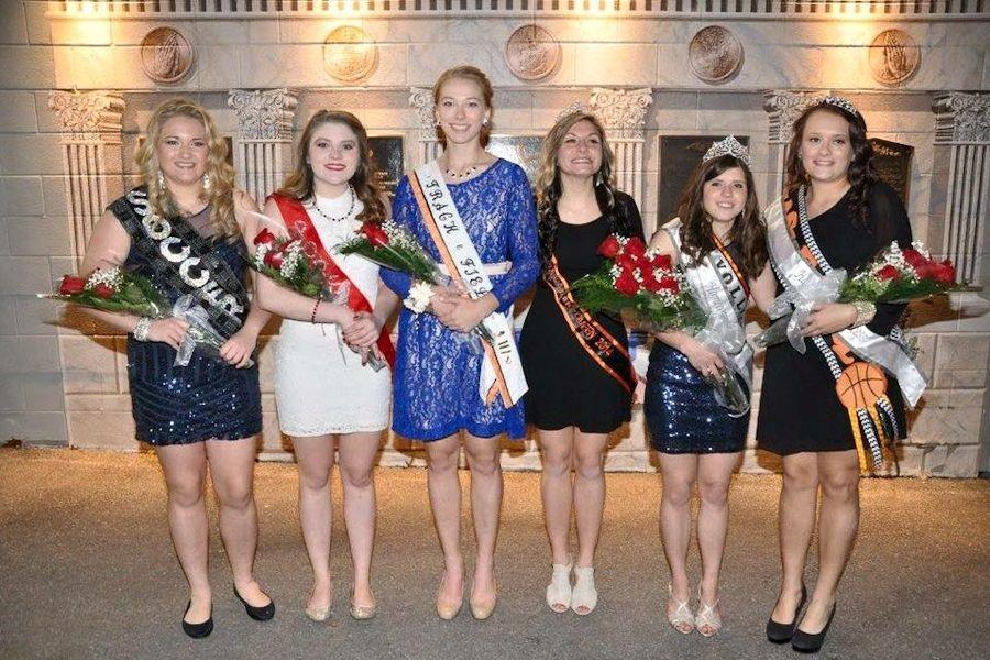 The 2015 Homecoming Court winners