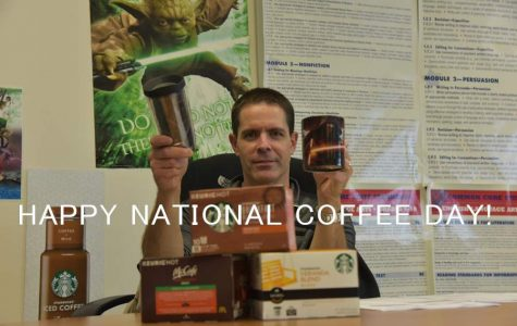 Ten Questions for TAHS English Teacher David Rutter on #NationalCoffeeDay