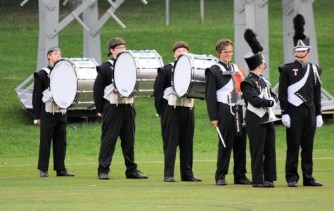 Tyrone Marching Band Places First at Mechanicsburg HS
