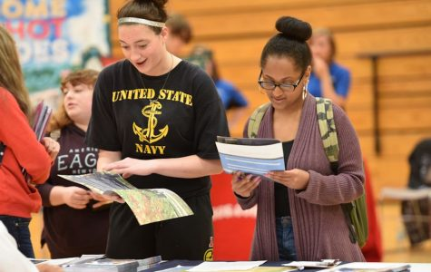 Career Fair Hosts Businesses and Schools at TAHS