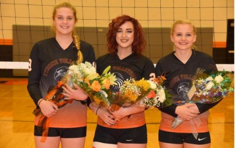 Lady Eagles Crumble on Senior Night