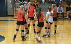 Lady Eagles Volleyball Take Hard Loss to Bearcats