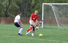 Keeper Isaac Woomer injured after Central player collision