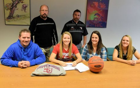 Scholar-to-Ship: Tyrone's Engle Accepts Basketball Scholarship to Shippensburg University