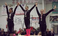 Sophomore Olivia Barr Jumps, Spins, and Soars into her 7th Gymnastics Season