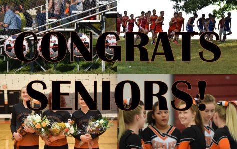 Thank You Fall Sports Seniors!