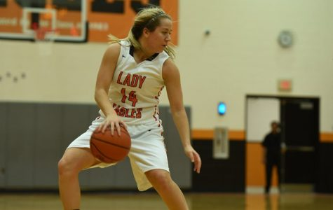 Lady Eagles Overcome Slow Start to Win at Huntingdon