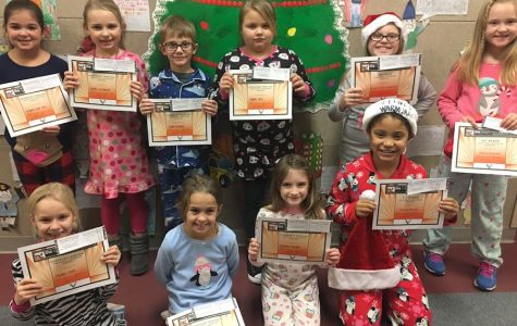 First Annual Eagle Eye First and Second Grade Christmas Coloring Contest