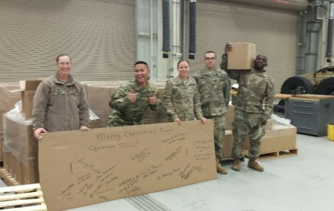 Saving Our Soldiers: Tyrone Students and Staff Support Soldiers Overseas