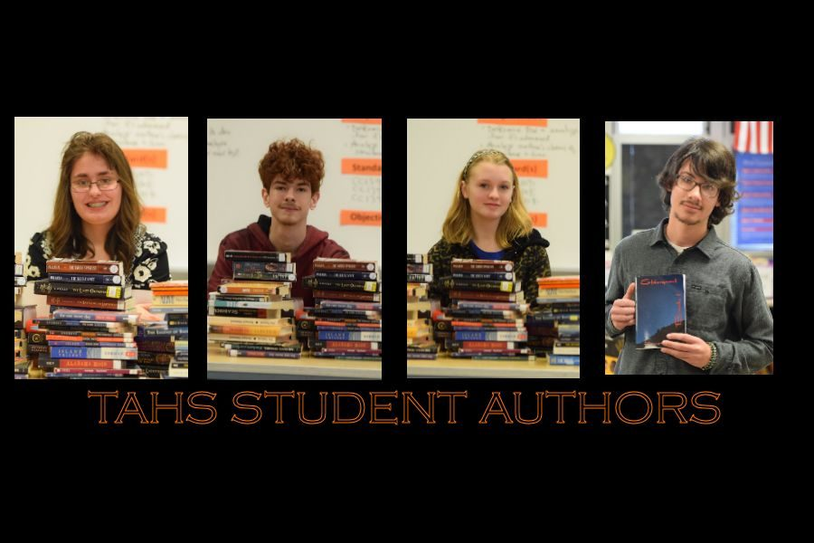TAHS Student Authors: Four TAHS Students Take Their Love of Writing