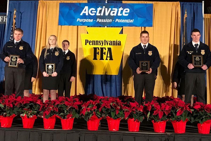 Tyrone Area FFA is recognized at Pennsylvania Farm Show