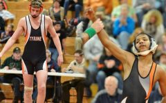 Two Golden Eagles Soar at District Wrestling Tournament