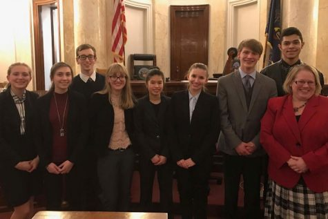 """Tyrone Mock Trial B Team """"Fights Fire With Fire"""" In Final Trial"""