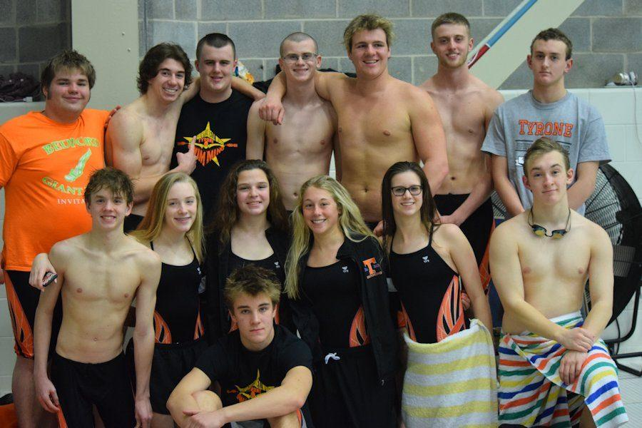 Swim Success at This Years PIAA Swim Districts; Team Getting Stronger Each Year