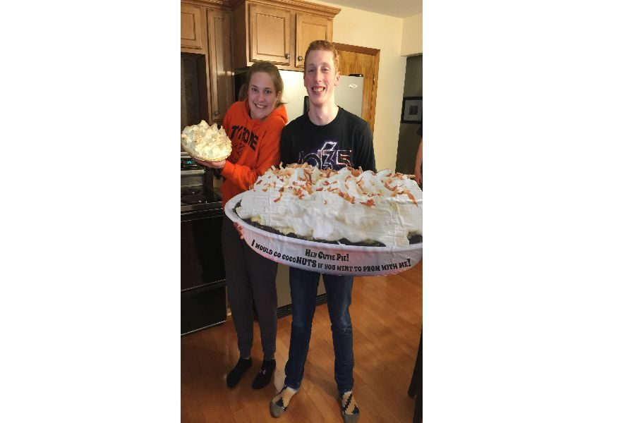 Eagle Eye Promposal Contest: Who Doesn't like Pie?